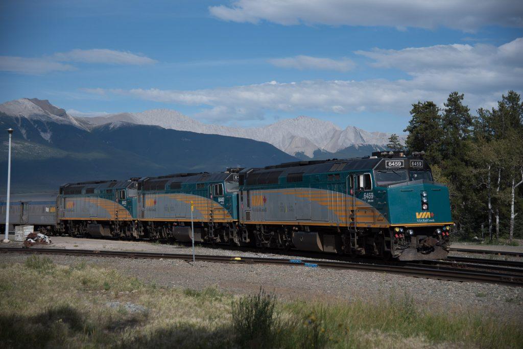 Train à Jasper