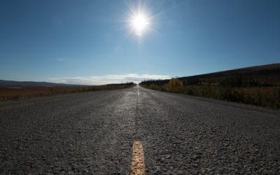 ALASKA – Just arrived in Alaska, direction the Dalton Highway
