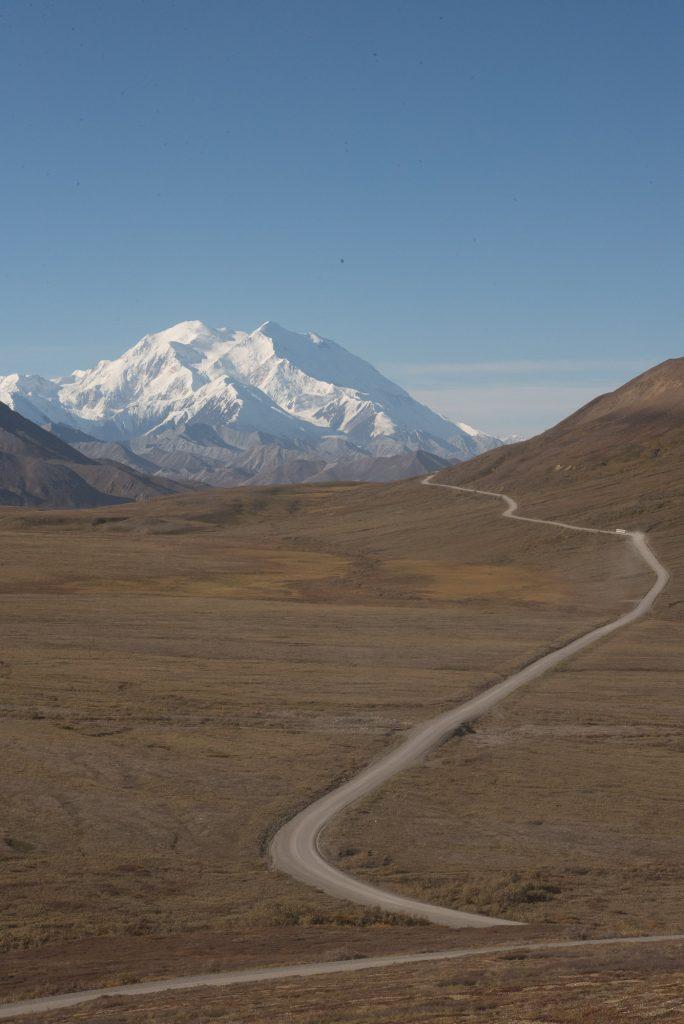 Le Mont Denali apparaît