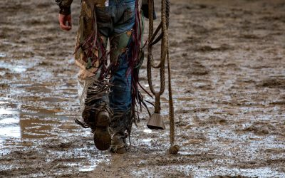 CANADA – BRITISH COLUMBIA – A sunday at a Rodeo show