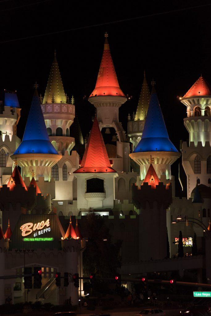 Un château à Vegas