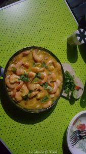 quotidien van camion cuisine crevette cooking shrimps