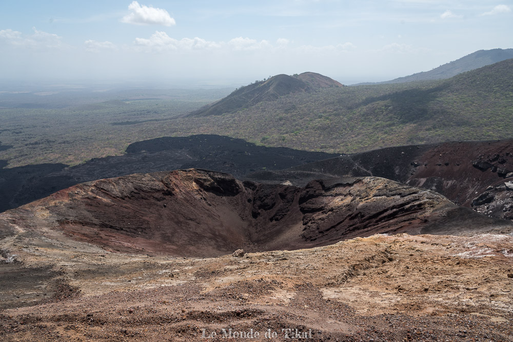 nicaragua cerro negro volcan volano