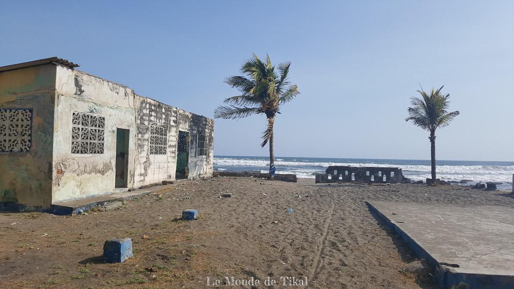 nicaragua pacific pacifique las penitas sable sand palm tree palmier mer sea