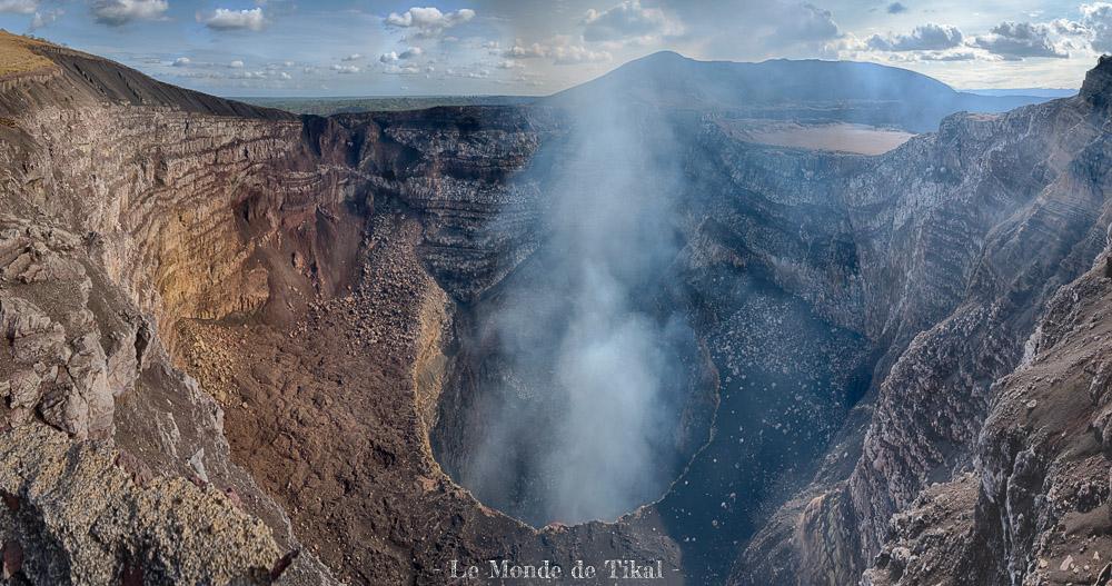 nicaragua volcan volcano masaya panoramique panoraic hdr