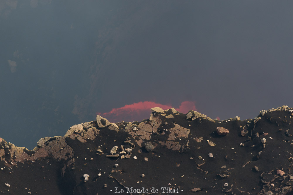 nicaragua volcan volcano masaya lava lave