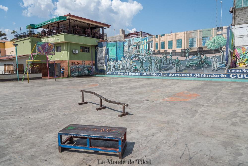 nicaragua león street art rue skate park