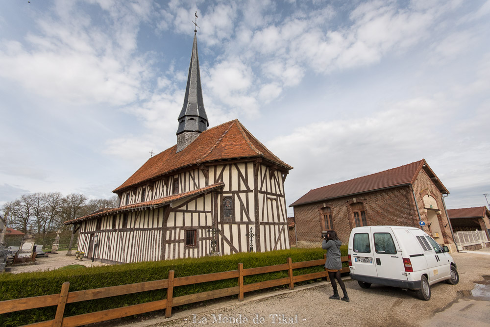 Tour des églises à pans de bois - Lac du Der