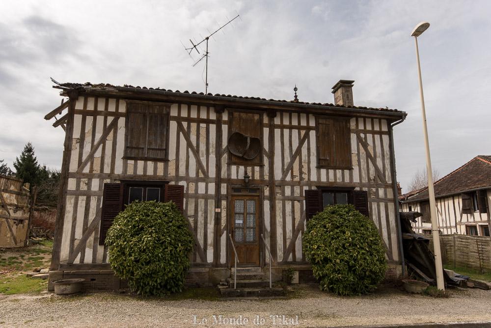 Maison à pans de bois - Lac du Der