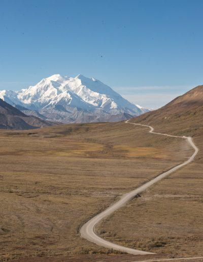 Sur la route - Alaska Denali