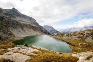 FRANCE – Isère – Randonnée aux lacs des Sept Laux dans le massif de Belledonne