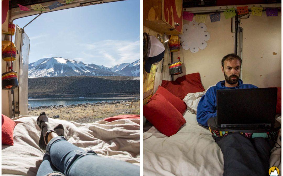 VANLIFE et ARGENT : Comment gagner des sous lorsque l'on vit en van ?
